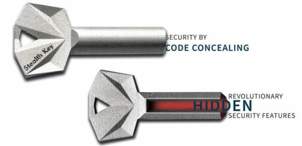 Bombillo de seguridad Stealth Key